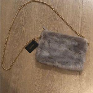 Forever 21 faux fur crossbody bag